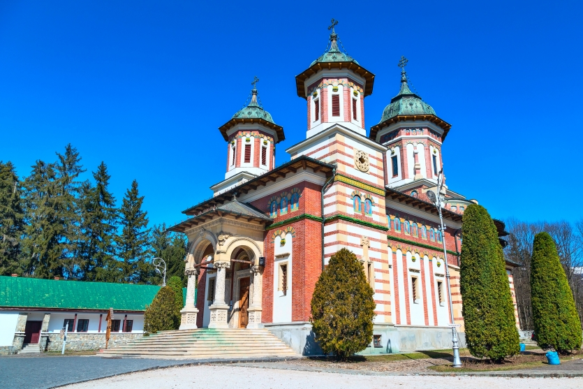 The Church at the Sinaia Monastery