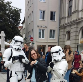 With the Stormtroopers in Germany