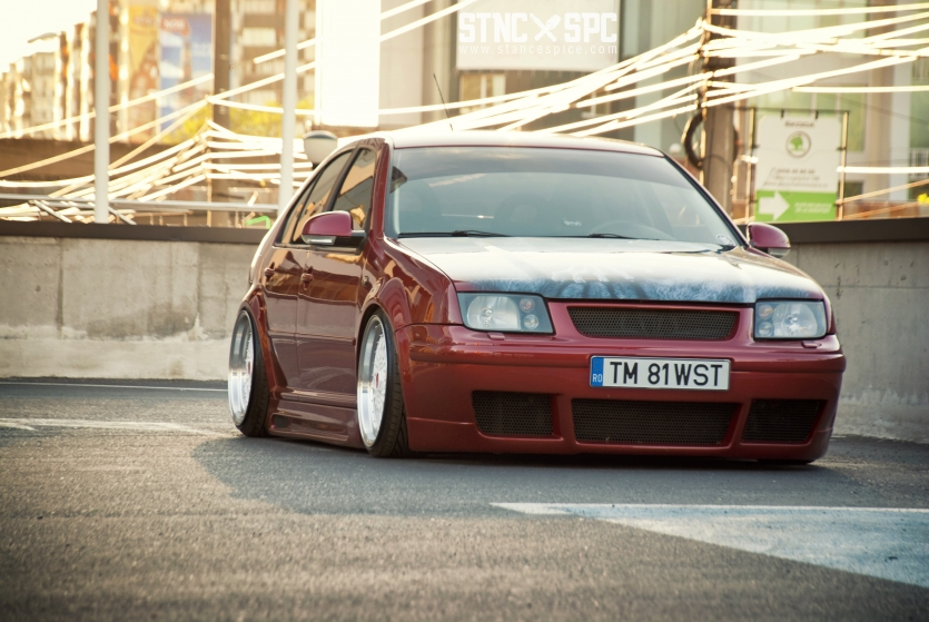 Volkswagen Bora/Jetta MK4 on airride suspension