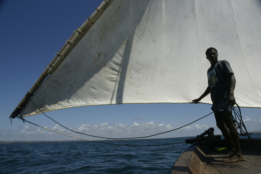 """Wooden Dhows: East African coastal heritage"""