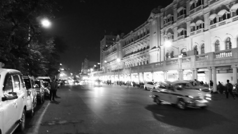 The Calcutta city.