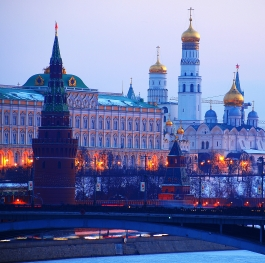 Kremlin in winter