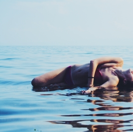 Ohrid lake mermaid