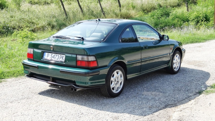 Rover 216 Coupe in British Racing Green