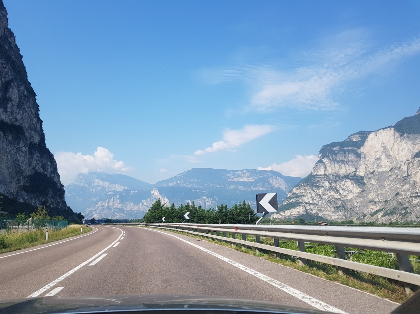 On the road to Trento