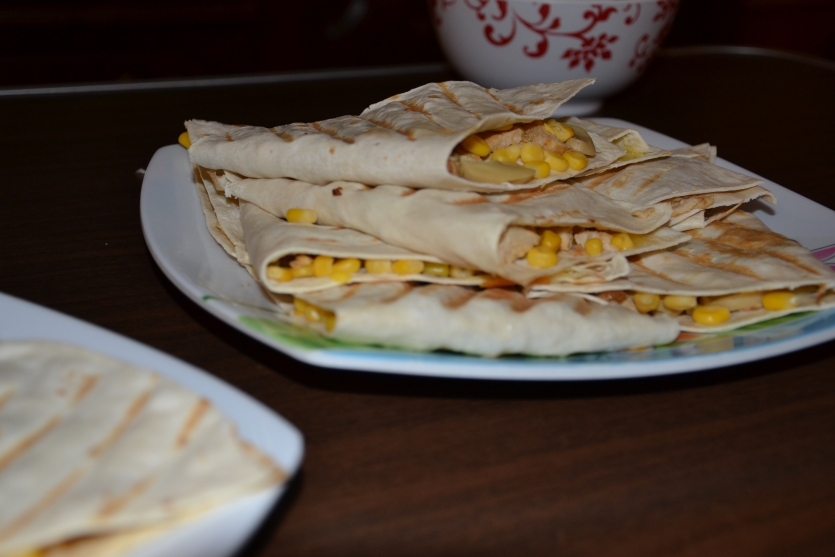 Homemade Chicken Quesadillas