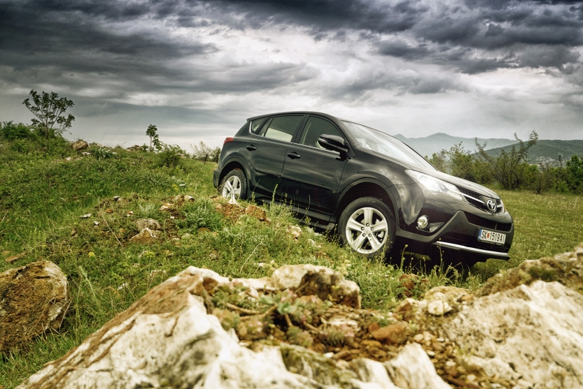 Off road with the RAV4