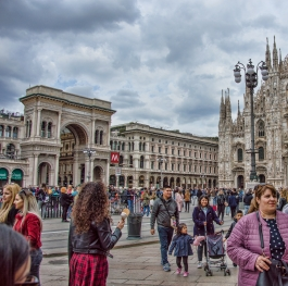 People in Milan