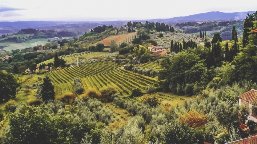 View on a Tuscany