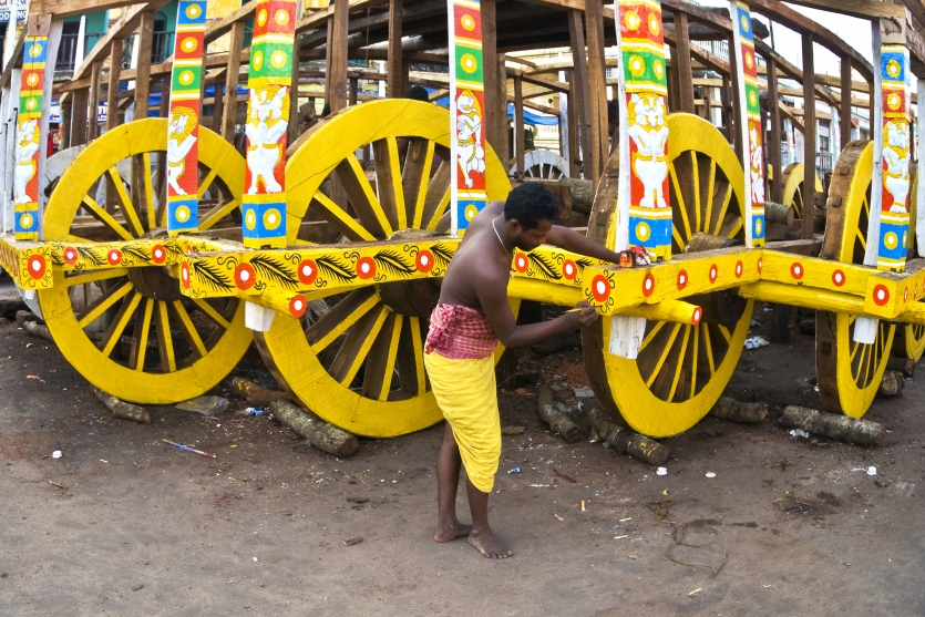 fabrication of chariot