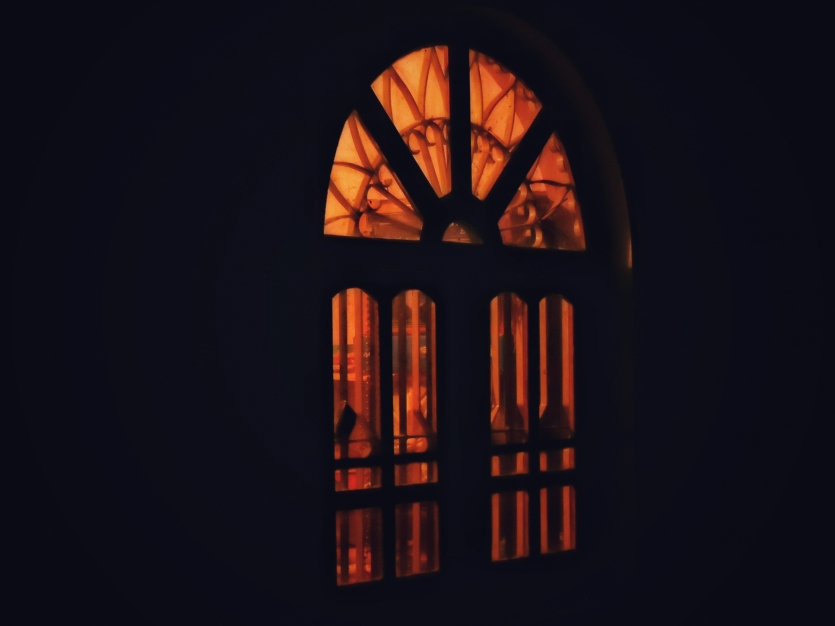 The lit Arch Window
