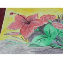 FLOWER aquarel
