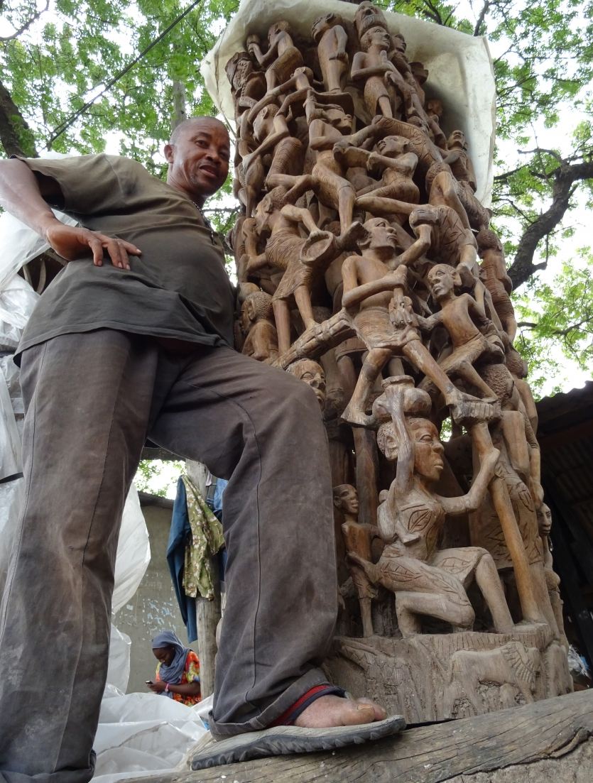 """The Family tree: Makonde carving"""