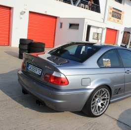 E46 M3 CSL - Track Day Time
