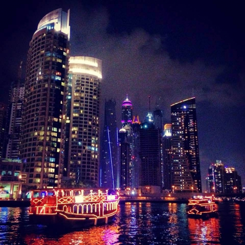 Dubai  in night