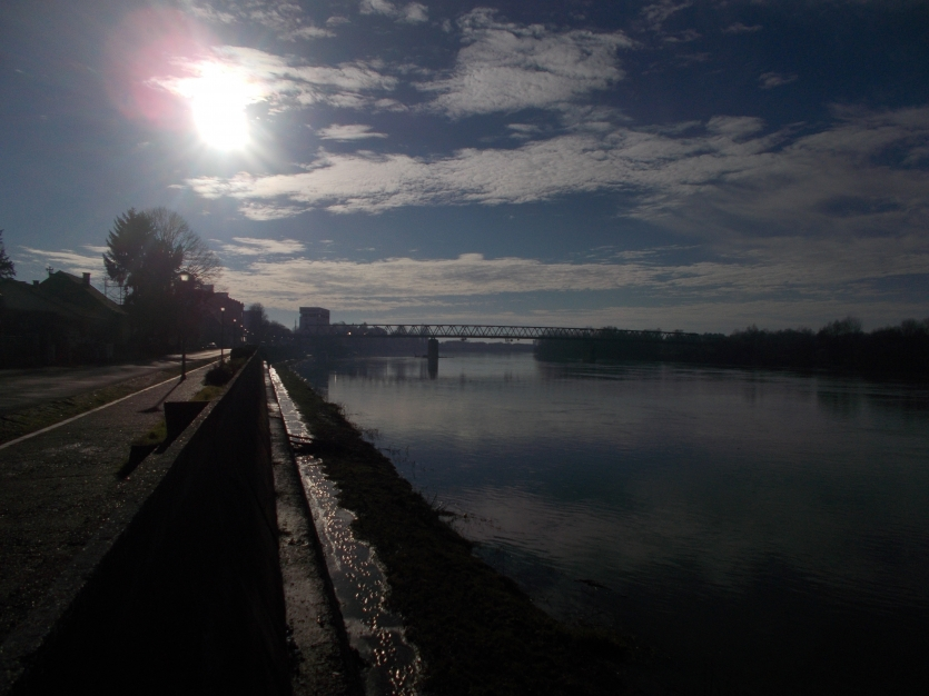 Bridge on Sava river
