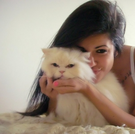 Me and my lovely  cat