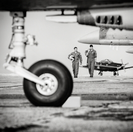 At the airfield