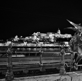 A silver vagabond night in Budapest
