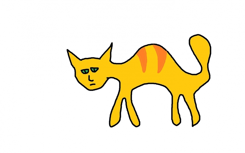 Cat in Paint