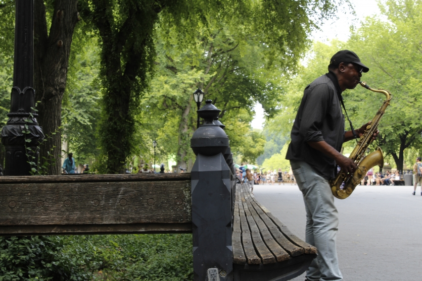 Saxophone in the Park
