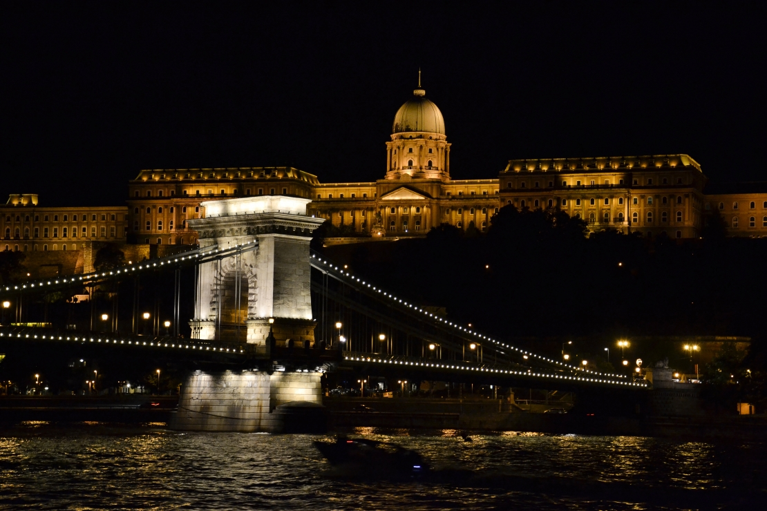 Beautiful bridges of Budapest