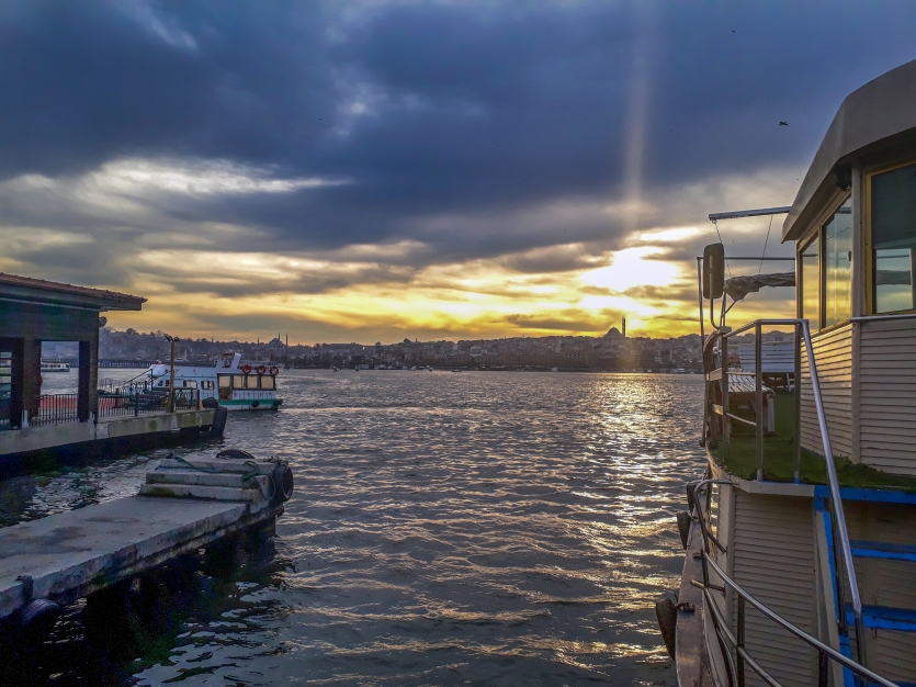 Golden Horn Sunset