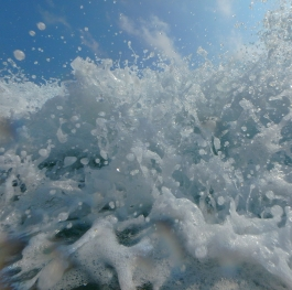 Wave splash