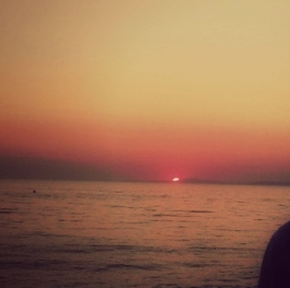 Neos Marmaras' Sunset and Me