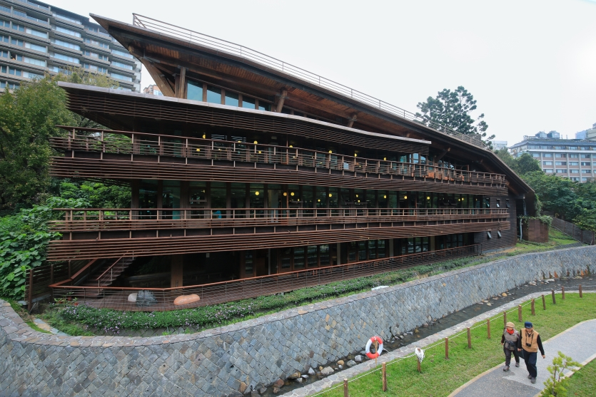 The Green Building - Beitou Library in Taiwan