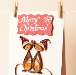 Merry Christmas card for your beloved one
