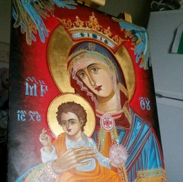 Icon painted by friend