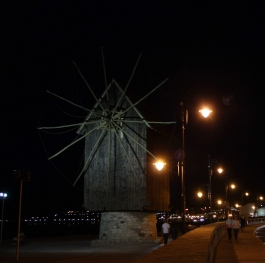 The wooden mill in Nessebar