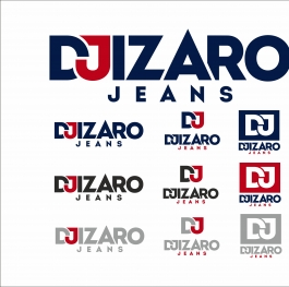 DJIZARO jeans Clean Version Logo