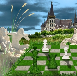 Chess gods in the Fairytale Castle