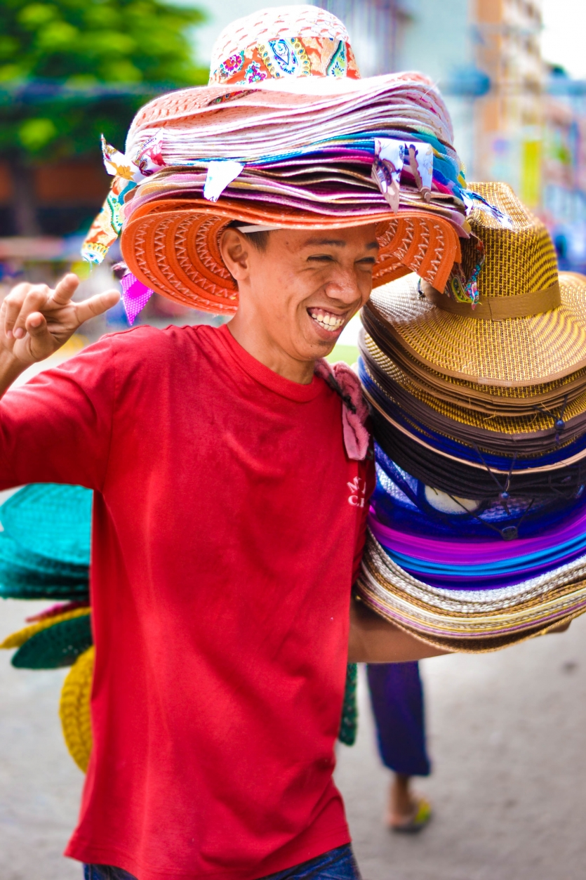 The Native Hat Vendor