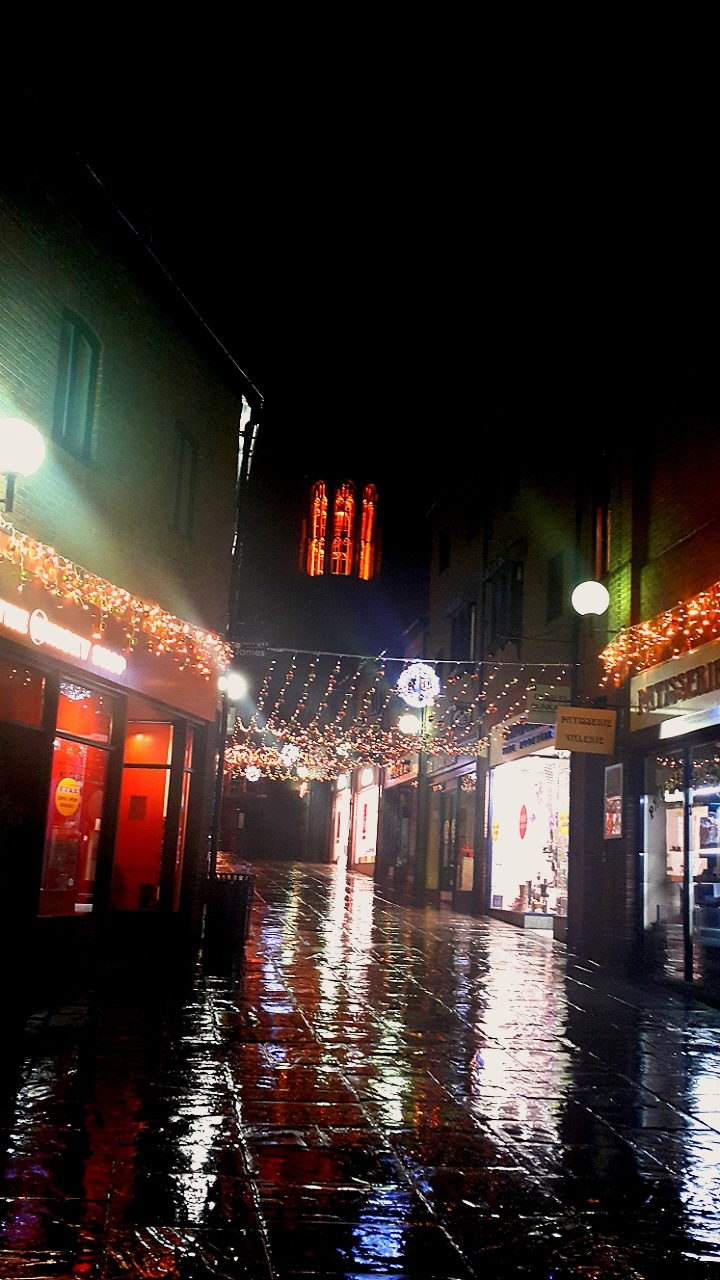 The streets of York