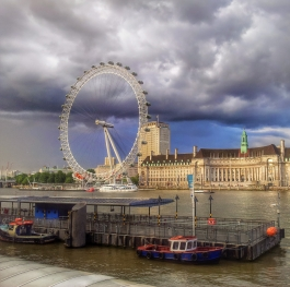 London eye from my point of view