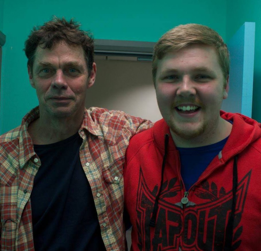 Rich Hall the Legend.