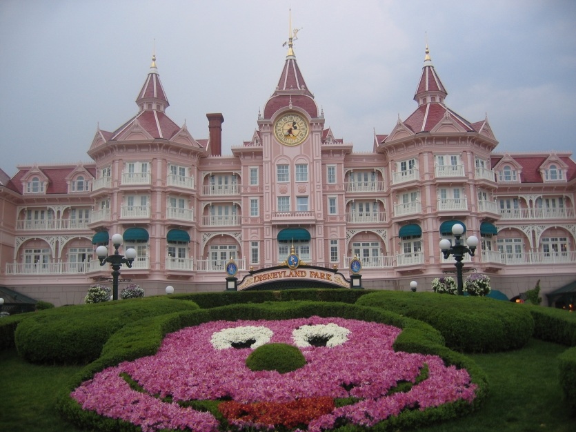 Disneyland Park,home of Mickey mouse and many other Disney heroes...