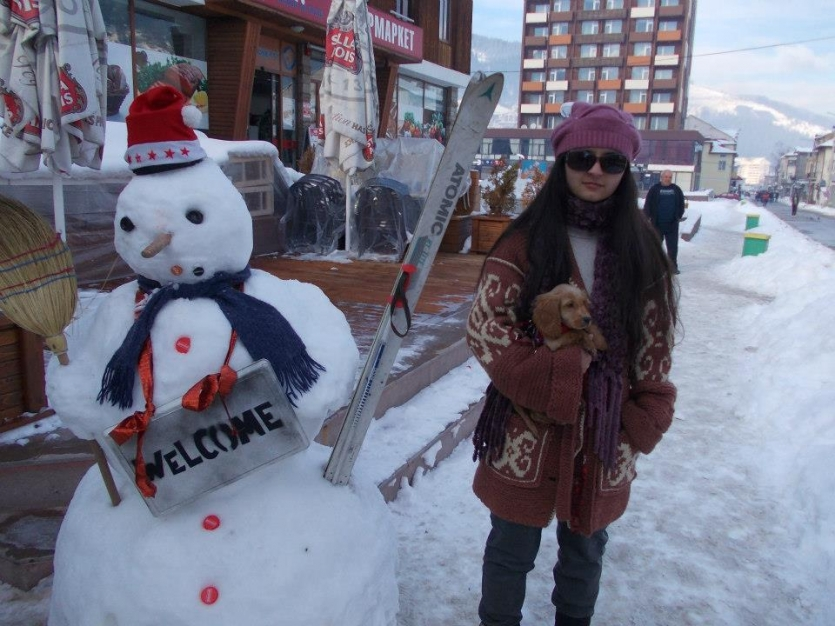 Winter with me and Richi