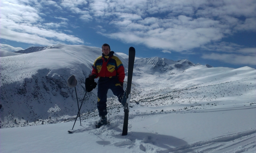 Skiing at its best