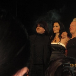 Levon Manukyan (conductor of the Sofia Philharmonic Orchestra),Tarja Turunen (ex Nightwish,now solo) and Mike Terrana (drums)