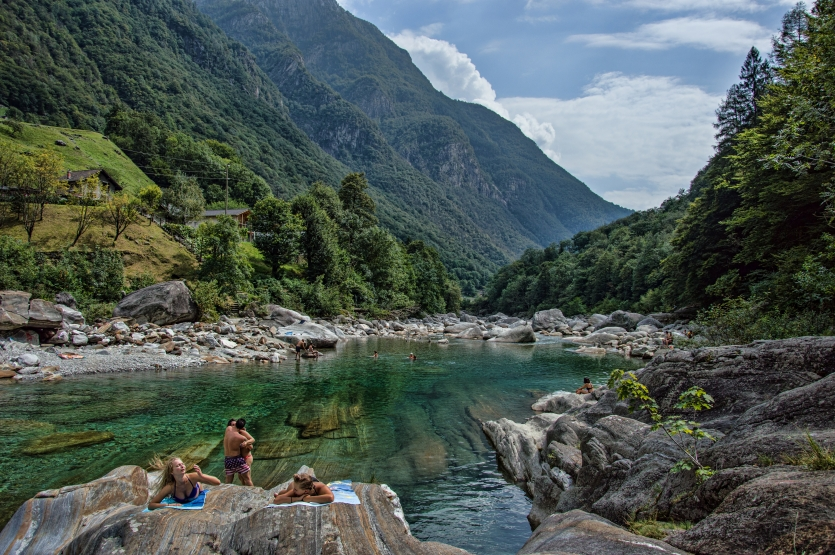 A day in Valle Verzasca