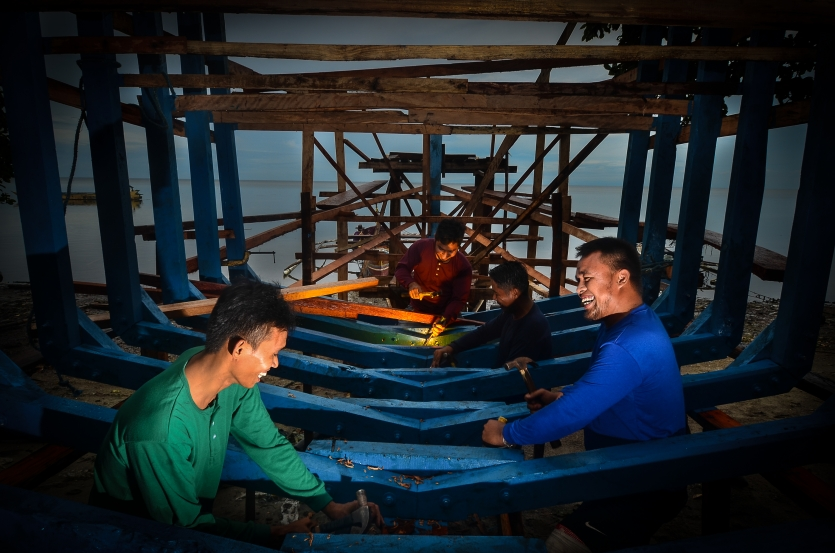 The Traditional Boat Makers