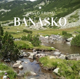 Special greetings from Bansko!
