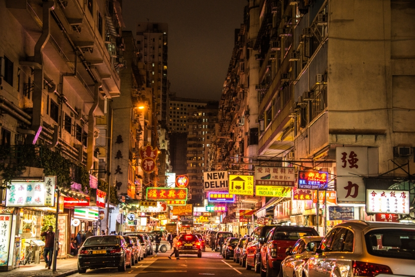 Alley of Hong Kong
