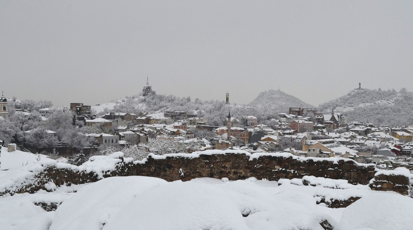 Winter On The Town, Plovdiv, Bulgaria