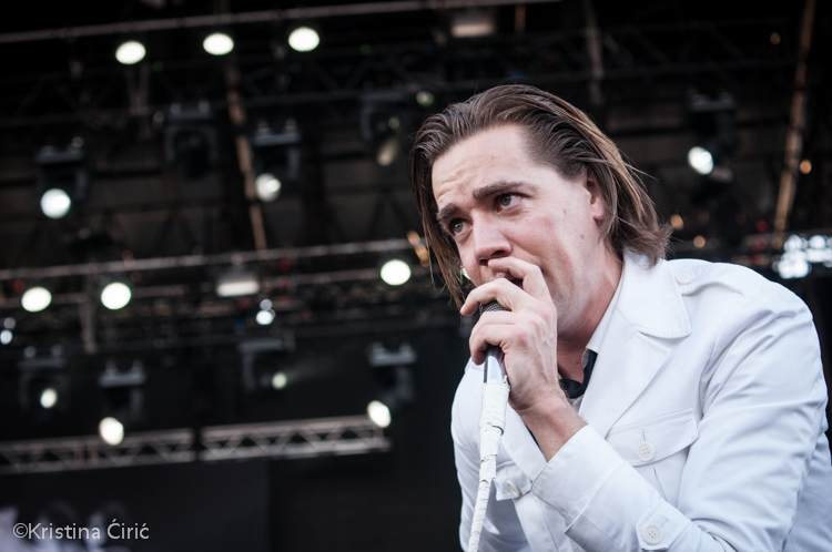 The Hives in Rock in Vienna