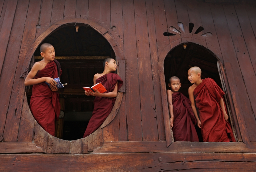 Monks in Making